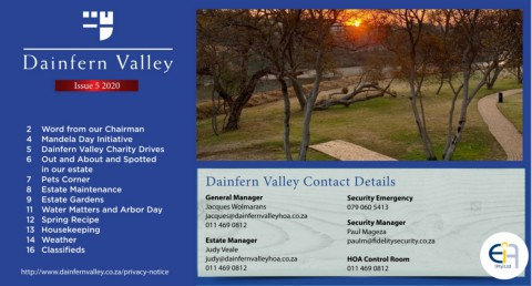 Dainfern Valley Issue 5 2020