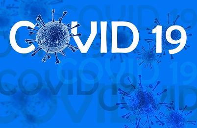Coronavirus disease COVID-19 infection, medical illustration. New official name for Corona