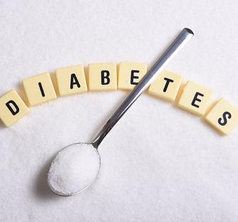 diabetes word in crossword style block l