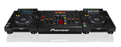 CDJ e Mixer Pioneer 2000 Nexus