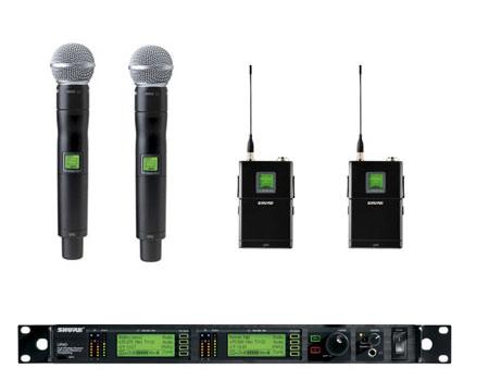 Microfones Shure UR