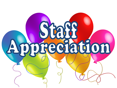 Staff Appreciation Donations