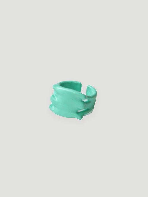 MON CHER MOI Pond Ripple Ring