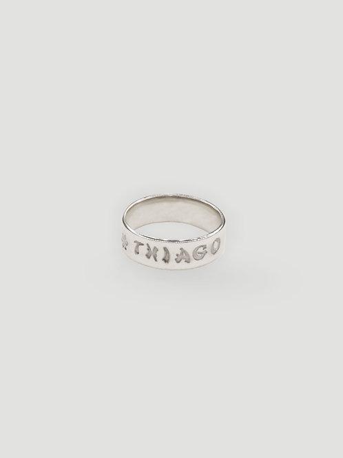 THIAGO SILVER Branded Ring