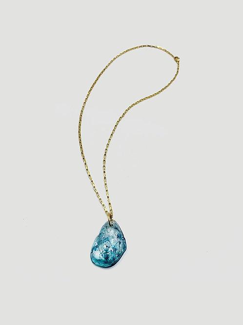 LAUGAHEY Frozen Droplet Necklace