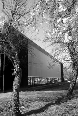 Salle de sport dans le parc de Bourran