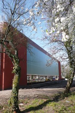 Salle de sports dans le parc de Bourran à Mérignac