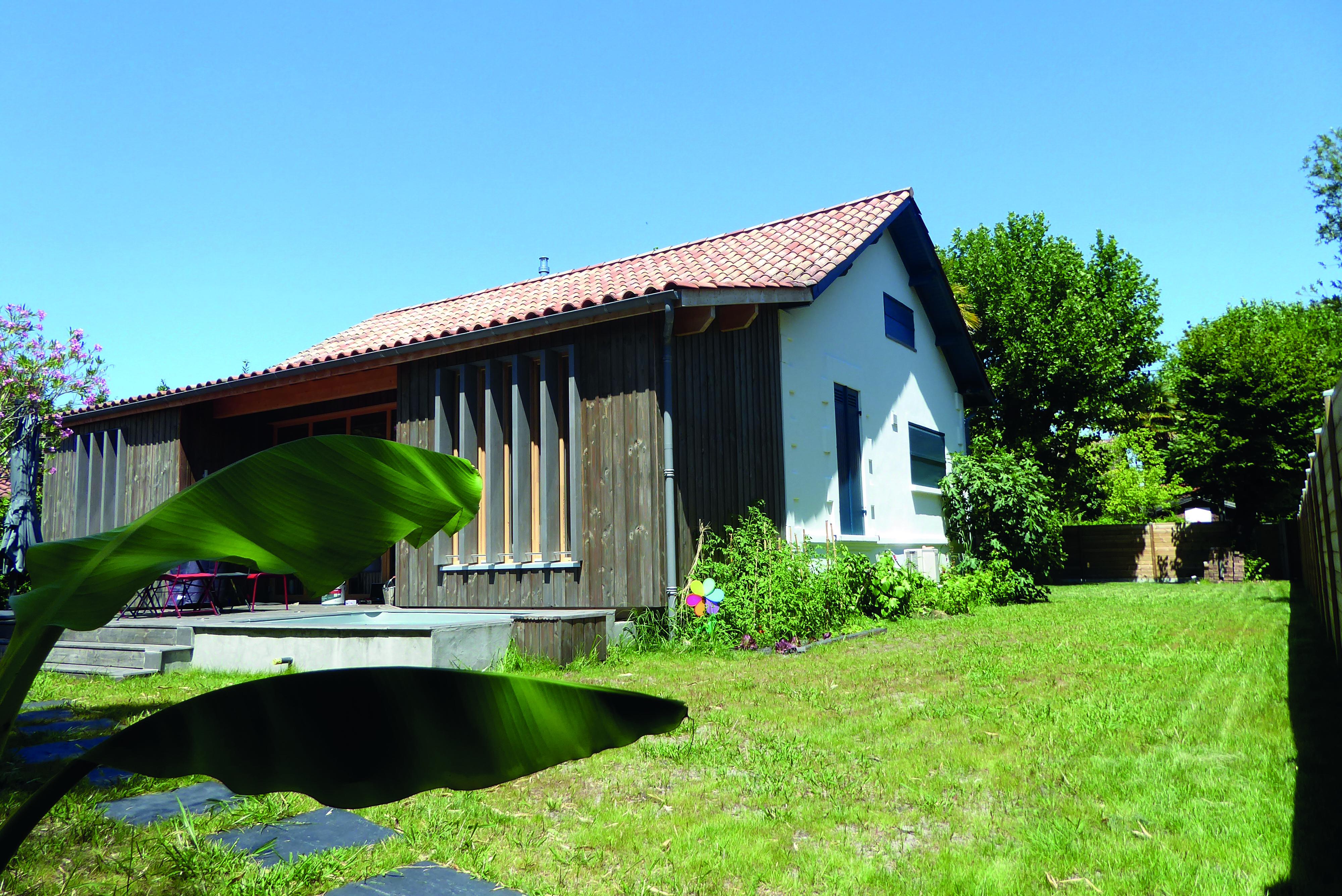 Rénovation d'une « Arcachonnaise » à Taussat