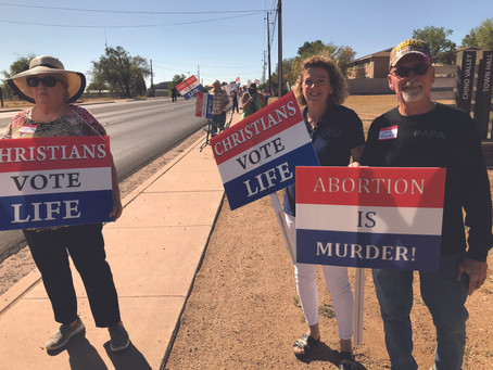Vote for Life Rally