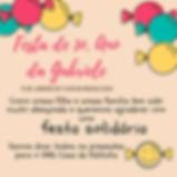 Convite Gabriele