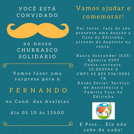 Convite Fernando