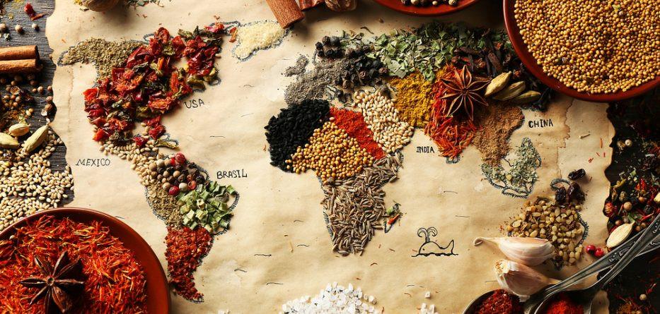 comidas do mundo