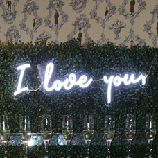 """Neon """"I Love you"""" Sign"""