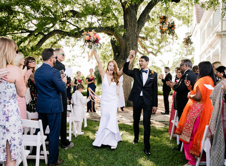 Keep Austin Colorful - a lively fusion wedding