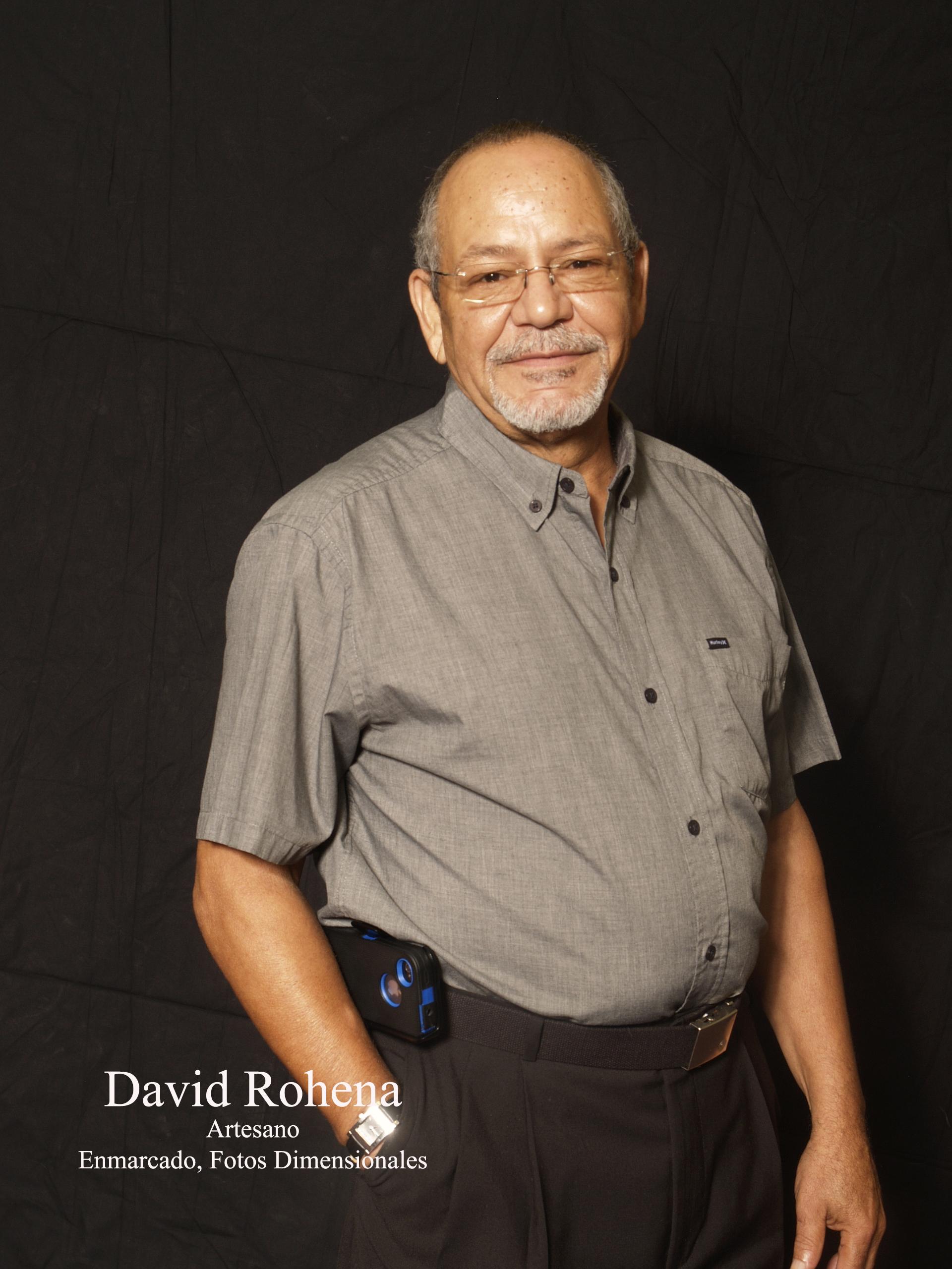 David Rohena - Artesano Enmarcado, Fotos   Dimensionales