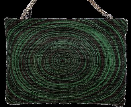 Emerald Circle Clutch