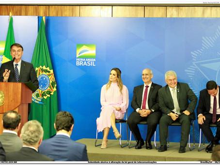Nova Lei de Telecomunicações é oportunidade de mudar o Brasil, diz presidente