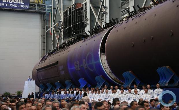 SBR2 Humaitá: Em apresentação de novo submarino, Bolsonaro discursa sobre soberania