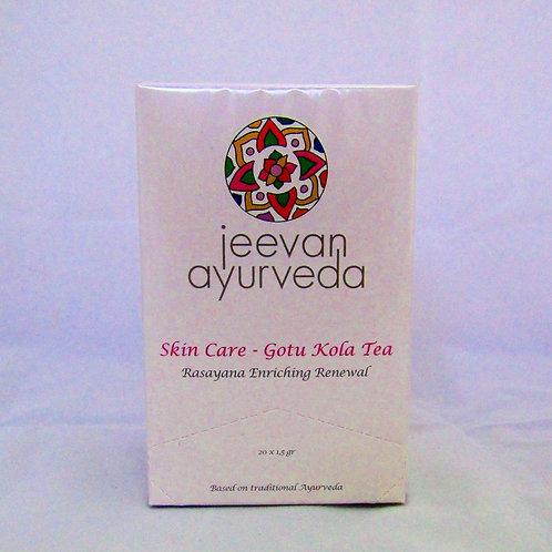 Skin Care Tea ECO-Gotu Kola Tea: Antioxidante, Mejora La Piel (20 Bolsitas)