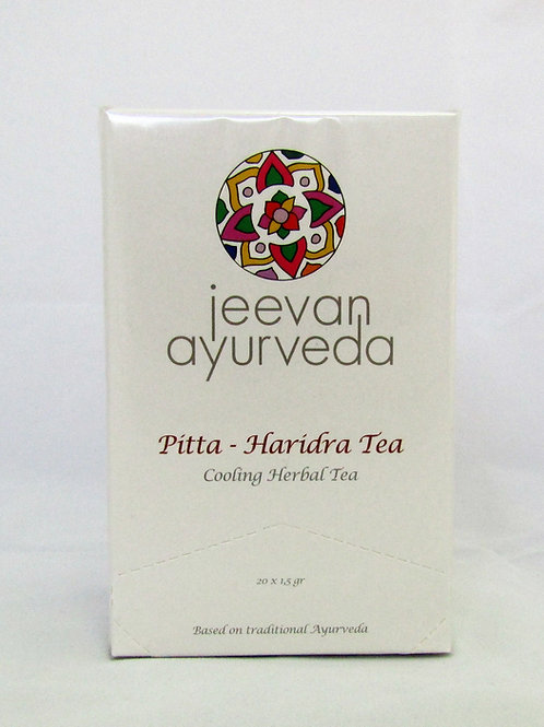 Pitta Haridra Tea ECO: Refrescante Y Digestiva (20 Bolsitas)