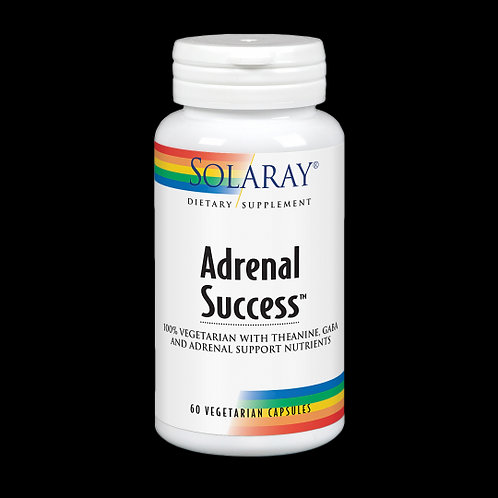 Adrenal Success™-60 VegCaps. Sin Gluten. Apto Para Veganos