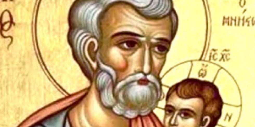 Santa Messa nella solennità di San Giuseppe