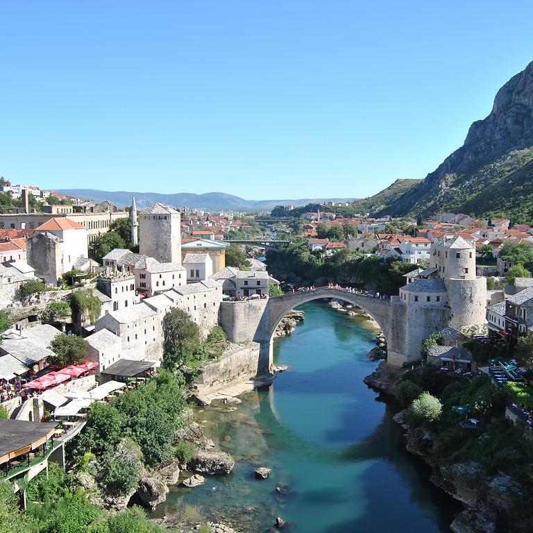 presentazione Campo in Bosnia Agosto 2021