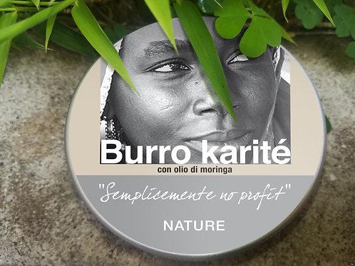 """Burro di Karite con olio di moringa - """"Nature"""""""