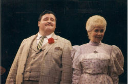 """Walters as Uncle Sid in a 1996 revival of Jackie Gleason's """"Take Me Along"""""""