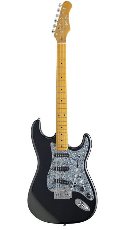 STAGG | GUITARRA S350-MBK