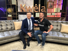 Morne Basson on Kwela with Hannes.HEIC