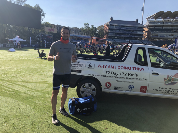 Morne Basson at Wanderers Cricket ground