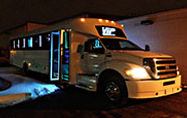 party bus chicago, limo bus, chicago limo bus, party bus rental