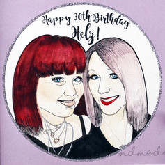 30th Birthday Card for Friend