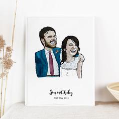Anniversary Wedding Portrait