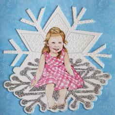 Girl Birthday Card - Ice Queen