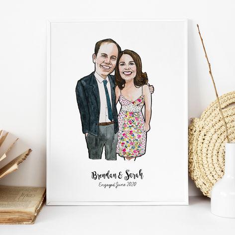 Couple Engagement Portrait
