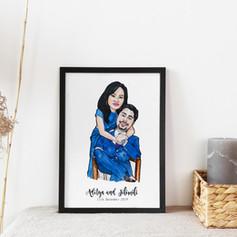 Wedding Gift Illustration