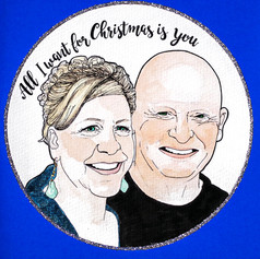 Christmas Portrait Card