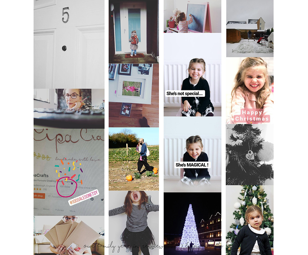 Our family year in review . September to October 2017 in photos