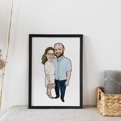 Wedding Anniversary Portrait