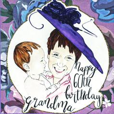 Happy 60th Birthday Grandma
