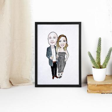 Boyfriend and Girlfriend Portrait
