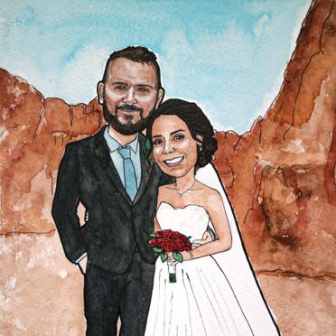 Wedding Portrait Gift