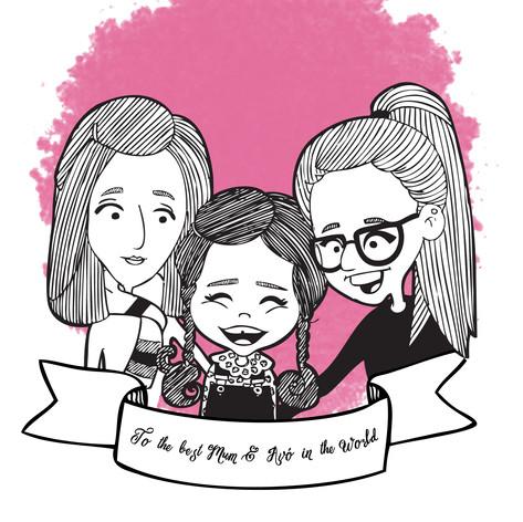 Digital Illustration_Family