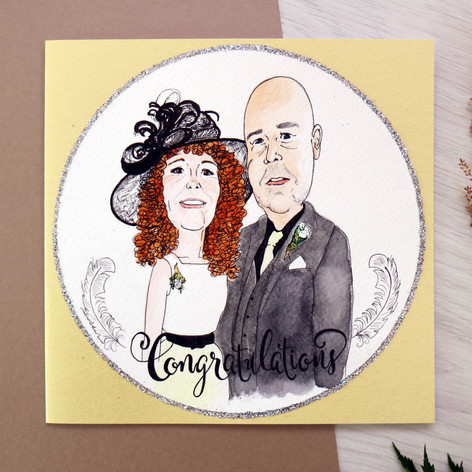 Wedding Portrait Card