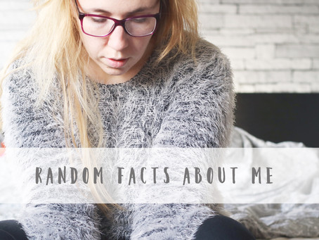 Who am I after all? 29 random facts about me