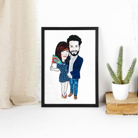 Gift for Boyfriend Illustration