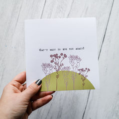 Can't Wait to Hug You Again Card