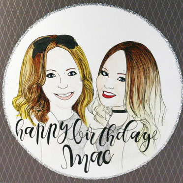Birthday Portrait Card